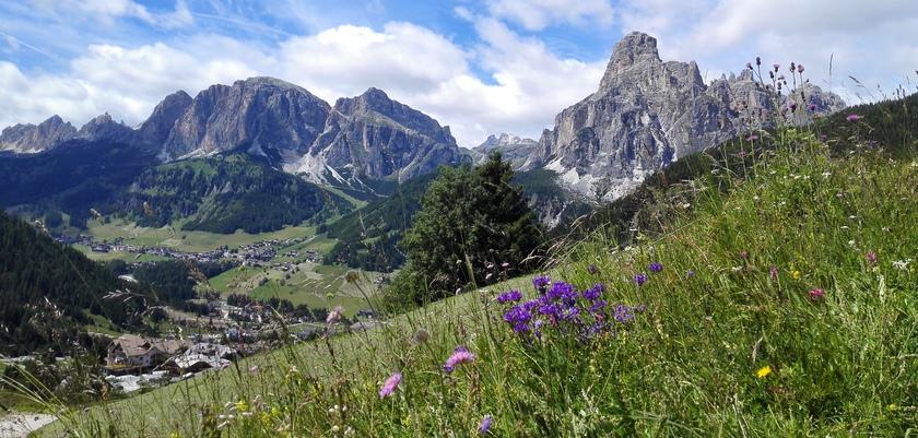 La Villa, Dolomites View.jpg